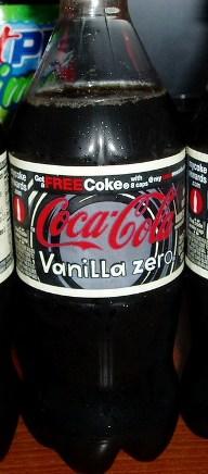 Coke Vanilla Zero