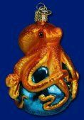 Octopus ornament