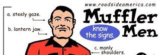 Muffler Man banner