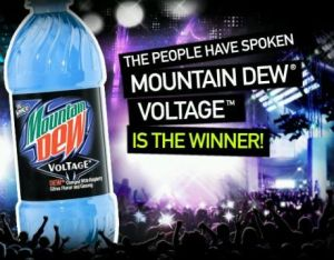 Mt Dew Voltage wins