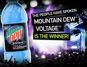Mt Dew Voltage wins