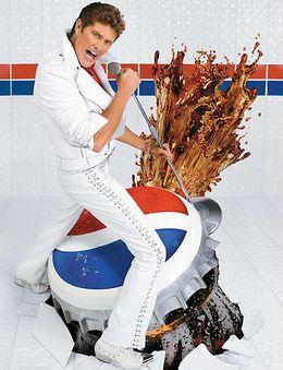 Hasselhoff and Pepsi