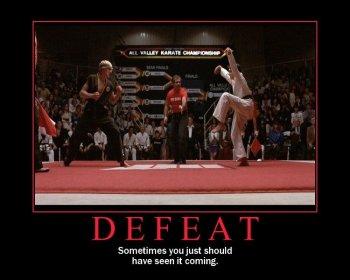 Defeat