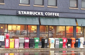 Starbucks in Chicago