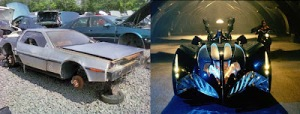 Delorean Batmobile