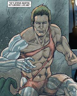 Steve Austin in Bionic Woman