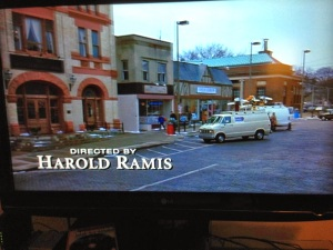 Directed by Harold Ramis