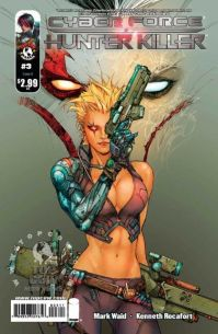 Cyberforce Hunter Killer 03