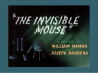 Tom and Jerry - Invisible Mouse 002