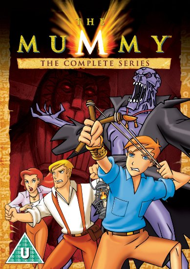 the mummy animated