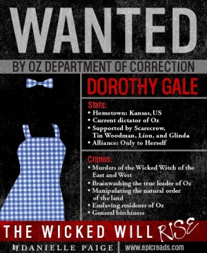 Wanted: Dorothy