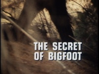 Bigfoot title card