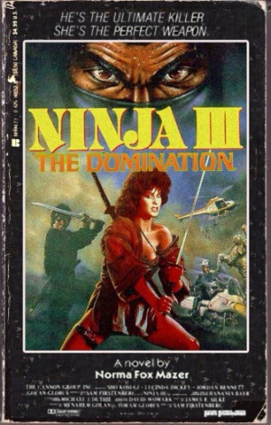 Ninja 3 - The Domination movie novelization 2